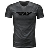 Fly Racing Corporate T-Shirt Black Onyx Heather