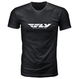 Fly Racing Corporate T-Shirt 19 Black