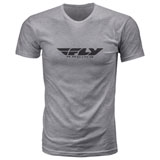 Fly Racing Corporate T-Shirt 19 Dark Grey Heather