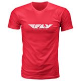 Fly Racing Corporate T-Shirt 19 Red