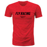 Fly Racing EVO T-Shirt Red Heather