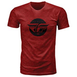 Fly Racing Inversion T-Shirt Blaze Red Heather