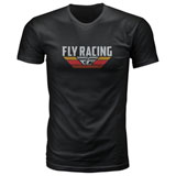 Fly Racing Voyage T-Shirt Black