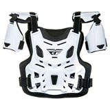 Fly Racing Youth Revel CE Roost Guard White