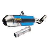 FMF Factory-4.1 Anodized Titanium Silencer With SS Mid-Pipe