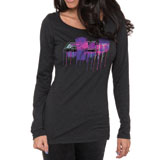 FMF Grunge Ladies Long Sleeve T-Shirt