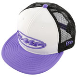 FMF Women's Pit Party Snapback Hat White/Lavender