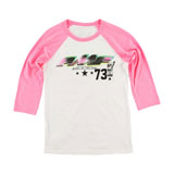 FMF Women's Number 1 3/4 Sleeve Raglan T-Shirt