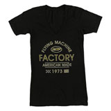 FMF Women's Tracks V-Neck T-Shirt