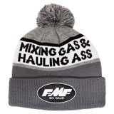 FMF Gassed Beanie Charcoal Heather