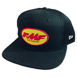 FMF Draft Snapback Hat Black