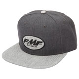 FMF Select Snapback Hat Black Heather