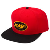 FMF Select Snapback Hat Red