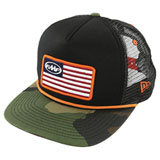 FMF Stars and Bars 2 Trucker Hat Camo