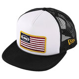 FMF Stars and Bars 2 Trucker Hat White