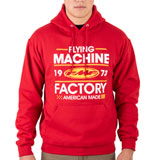 FMF Recoil Hooded Sweatshirt Red