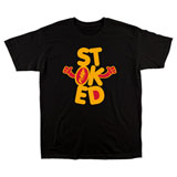 FMF Stoked T-Shirt Black