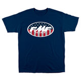 FMF Valiant T-Shirt Blue