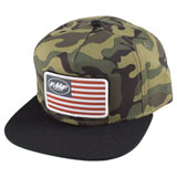 FMF Youth Stars and Bars Patch Snapback Hat