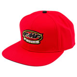 FMF Break Snapback Hat Red
