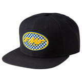 FMF Checkered Past Snapback Hat Black