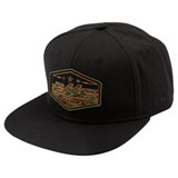 FMF Invisible Snapback Hat Black