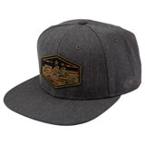FMF Invisible Snapback Hat Black Heather