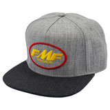 FMF Live Snapback Hat Heather Grey