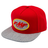 FMF Live Snapback Hat Red