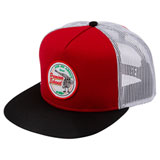 FMF Pit Stop Snapback Hat Red