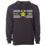 FMF Husqvarna/Rock Star Star Hooded Sweatshirt Black