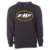 FMF RM Legacy Checks Hooded Sweatshirt Black