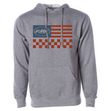 FMF RM Old Glory Hooded Sweatshirt Gun Metal Heather