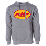 FMF RM Original Don Hooded Sweatshirt Gun Metal Heather