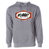 FMF RM Simple Dash Hooded Sweatshirt Gun Metal Heather
