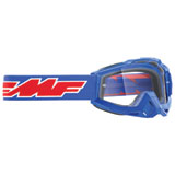 FMF PowerBomb Goggle Rocket Blue Frame/Clear Lens