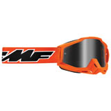 FMF PowerBomb Goggle Rocket Orange Frame/Silver Mirror Lens