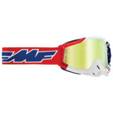 FMF PowerBomb Goggle US of A Frame/True Gold Lens