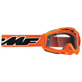 FMF PowerBomb OTG Goggle Rocket Orange Frame/Clear Lens