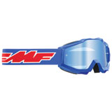 FMF Youth PowerBomb Goggle Rocket Blue Frame/Blue Mirror Lens