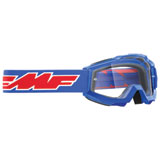 FMF Youth PowerBomb Goggle Rocket Blue Frame/Clear Lens