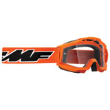 FMF Youth PowerBomb Goggle Rocket Orange Frame/Clear Lens