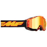 FMF Youth PowerBomb Goggle Spark Frame/Red Mirror Lens