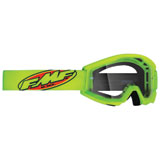 FMF Youth PowerCore Goggle Core Yellow Frame/Clear Lens