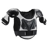 Fox Racing Pee Wee Titan Roost Deflector Black/Silver