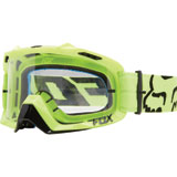 Fox Racing Air Defence Goggle 2017 Flo Yellow Frame/Clear Lens