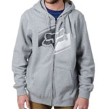 Fox Racing Boot Sector Zip-Up Hooded Sweatshirt