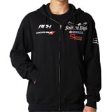 Fox Racing RCH Fanwear Zip-Up Hooded Sweatshirt