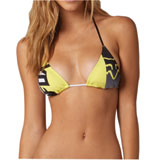 Fox Racing Bandit Ladies Triangle Bikini Top