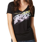 Fox Racing Dusty 2 Ladies V-Neck T-Shirt